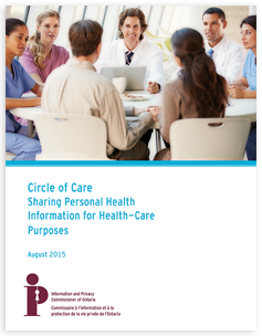 Circle of Care: Sharing Personal Health Information for Health Care Purposes